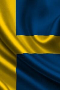 1440x2960 Sweden Flag