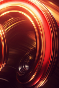 360x640 Swirl Digital Abstract 4k