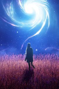 480x800 Swirl Of Dreams 4k