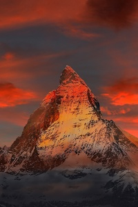 1080x2160 Switzerland Zermatt Mountains