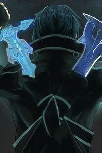 1242x2688 Sword Art Online