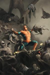 Symbiote Invasion Spiderman