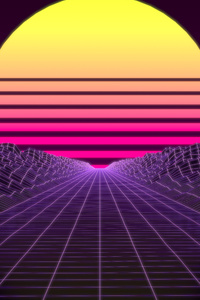 Synthwave 8k