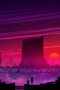 Synthwave Future Scifi 5k