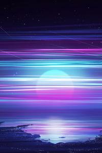 Synthwave Of Retro Night