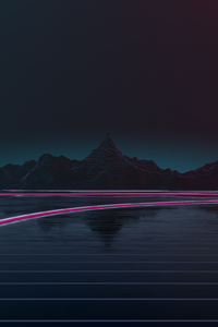 Synthwave Road 4k