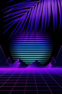 Synthwave Sun