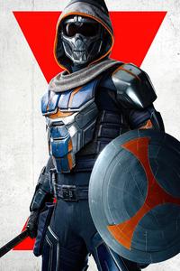 750x1334 Task Master In Black Widow Movie Poster 8k