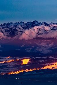 Tatra Mountains Snowy 5k