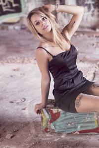 240x320 Tattoo Girl Brunette