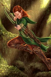Tauriel Hobbit 4k
