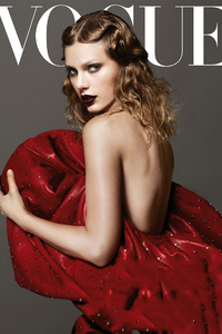 Taylor Swift Vogue 2017 4k