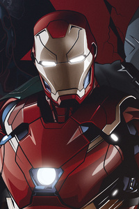 480x800 Team Iron Man