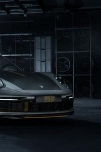 TechArt Porsche 911 Carrera 4S Coupe 2019 4k