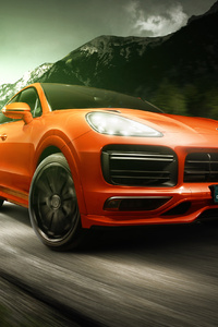 1080x2280 TechArt Porsche Cayenne Coupe 2019