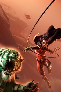 Teen Titans The Judas Contract 4k