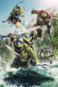 640x1136 Teenage Mutant Ninja Turtles 4k