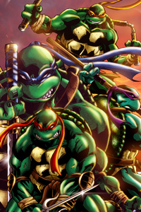 Teenage Mutant Ninja Turtles Art