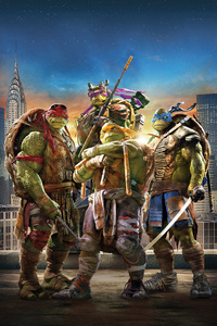 Teenage Mutant Ninja Turtles Movie 8k