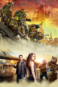 1440x2960 Teenage Mutant Ninja Turtles Movie Poster 4k