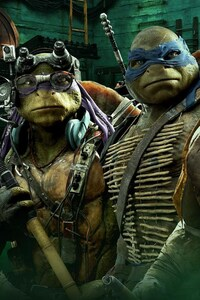 320x480 Teenage Mutant Ninja Turtles Movie 2