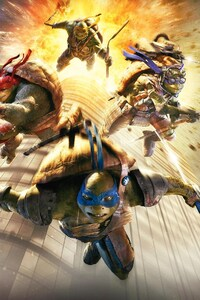 320x480 Teenage Mutant Ninja Turtles Movie