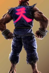 Tekken 7 Akuma CGI Art