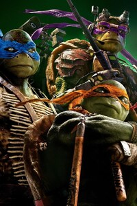 320x480 Tennage Mutant Ninja Turtles HD