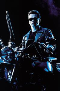240x400 Terminator 2 Arnold Schwarzenegger 4k