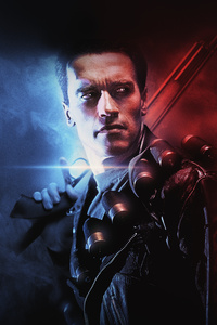 1080x2160 Terminator 2 Judgment Day Poster 4k