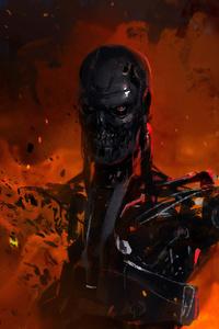 240x400 Terminator Art