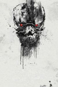 Terminator Dark Fate Poster 4k