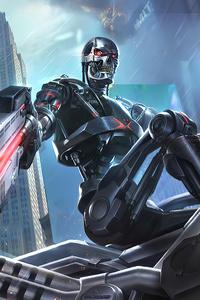 Terminator Garena Contra Returns