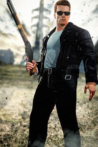 Terminator Genisys T 800 Art