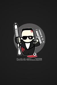Terminator Minimalism 4k
