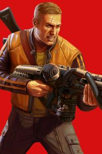 Terror Billy Wolfenstein II The New Colossus