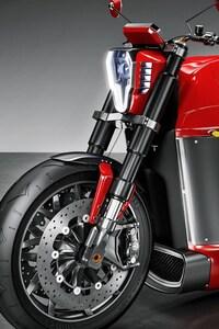 720x1280 Tesla Electric Motorcycle