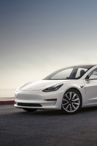 1080x1920 Tesla Model 3 2017