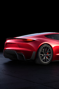 Tesla Roadster Rear Look