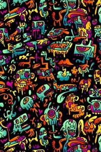 Texture Surrel Digital Art 4k