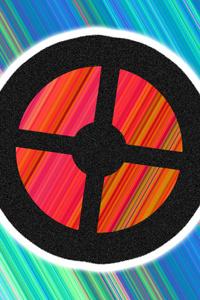 1080x2280 TF2 Logo Abstract