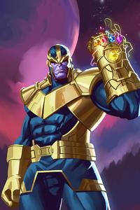 1080x1920 Thanos 2020 4k