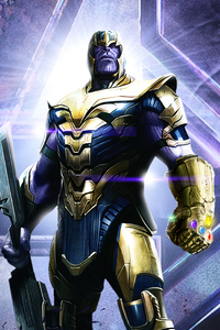 Thanos 2020 4k Artwork
