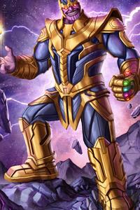 Thanos 4k Arts