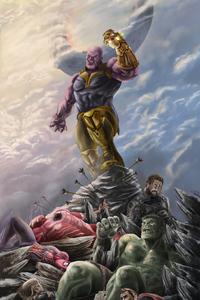 Thanos 4k Artwork 2019