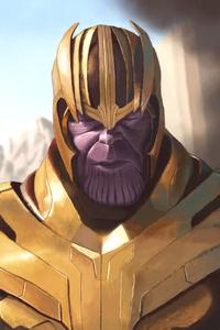Thanos 4k Artwork