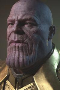 Thanos 4k Cgi