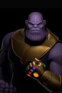 Thanos 4K Digital Art
