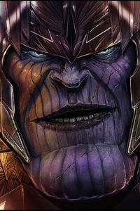 Thanos 4K Digital Artwork