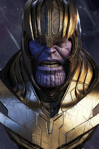 540x960 Thanos 4k New Art